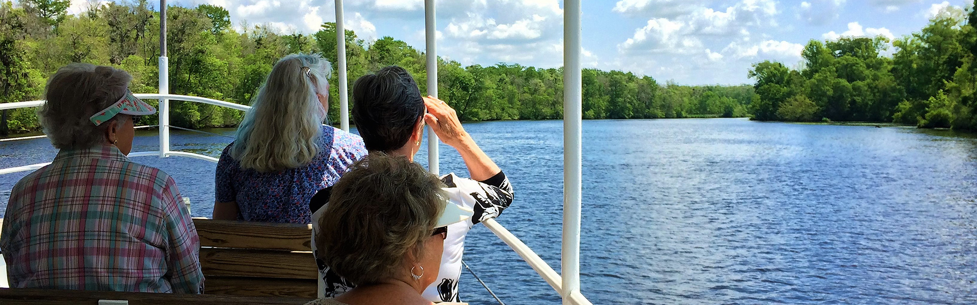 sightseeing Cape Fear River