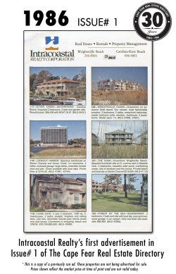 1986 Issue# 1 - Intracoastal Realty