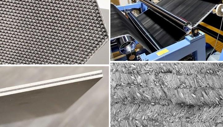 【news解説】CFRPの積層成形の弱点を低減するZ軸方向に繊維配向させたシート材