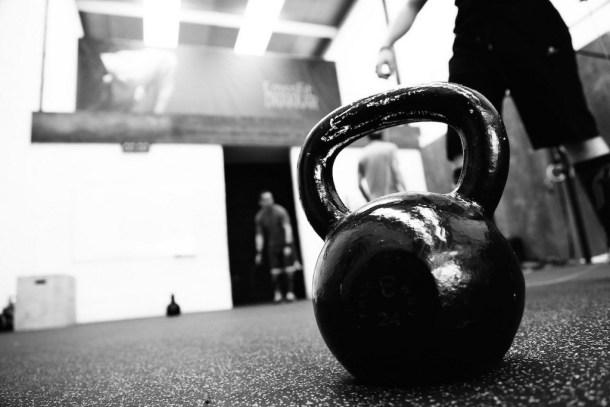 Wod CrossFit Sevilla kettlebell Training