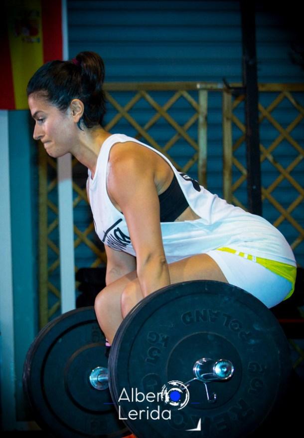 Wod CrossFit Sevilla Girl Levantada