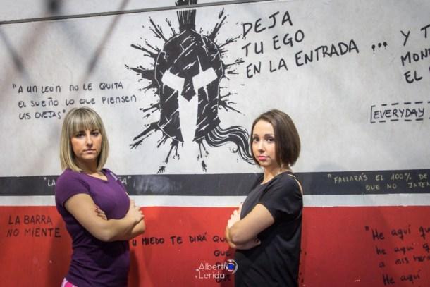 Wod CrossFit Sevilla CFS Girls Soul Lion