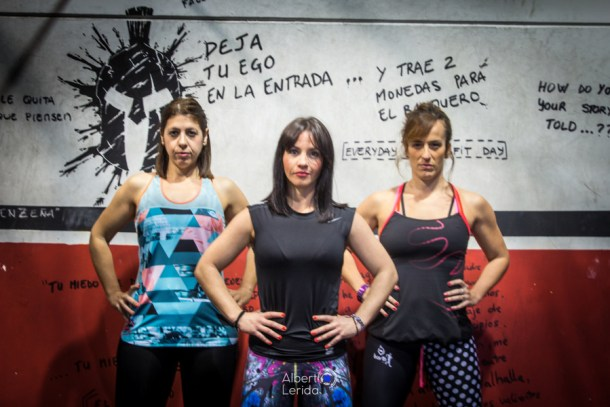 Wod training CrossFit Sevilla Girls