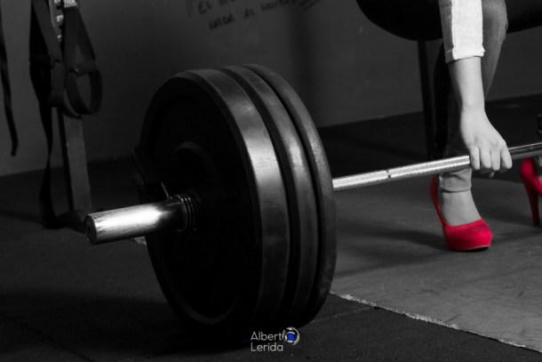 Wod CrossFit Sevilla girl tacon halterofilia