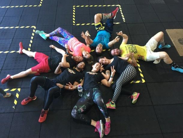 Wod CFS Box Leon CrossFit Sevilla Manada cansada