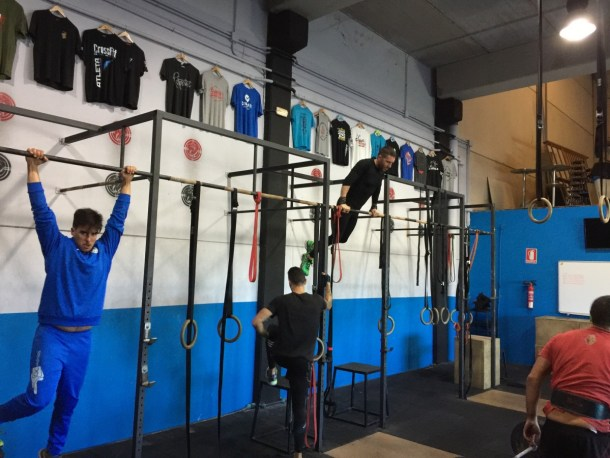 Wod CFS Box CrossFit Sevilla Training 2