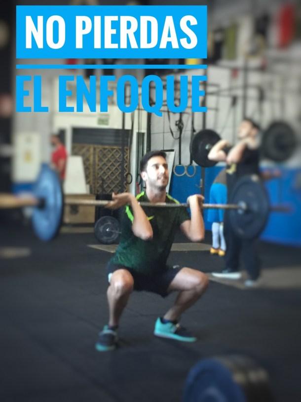 Wod CFS Box CrossFit Sevilla No pierdas el enfoque