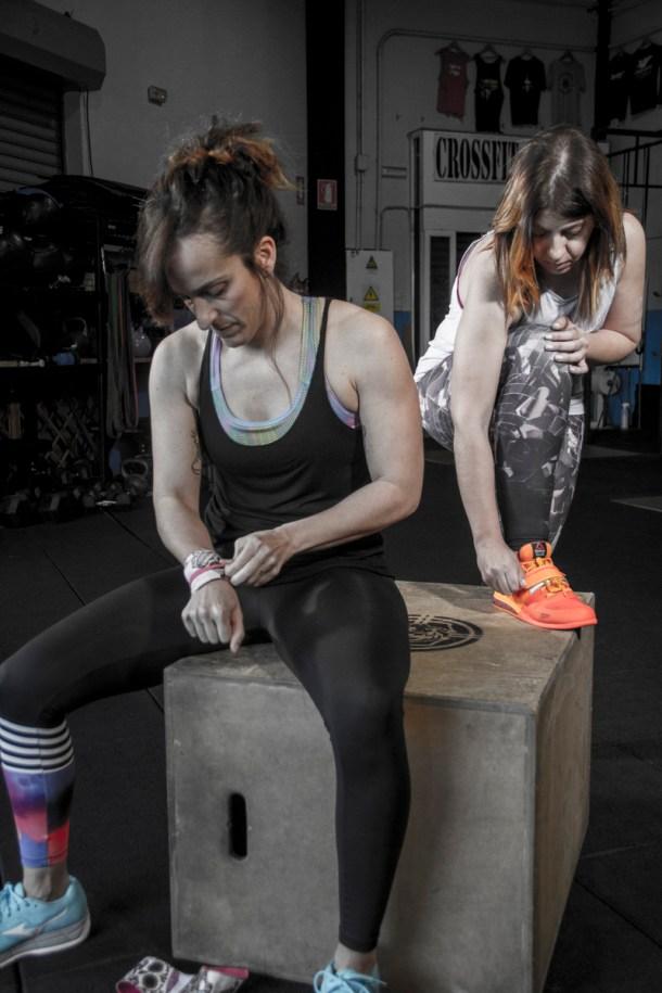 Wod CFS Box CrossFit Sevilla Girls Training