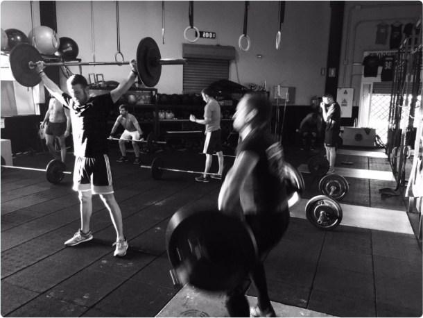 Wod CFS Box CrossFit Sevilla training Halterofilia