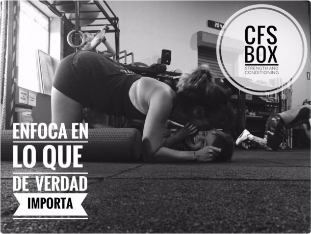 Wod CFS Box CrossFit Sevilla training Halterofilia enfoca en lo importante