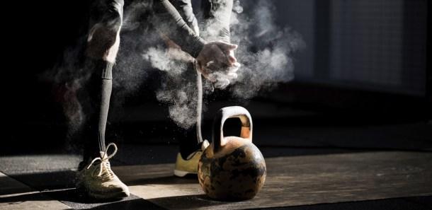 Wod CrossFit Sevilla kettlebell magnesio training