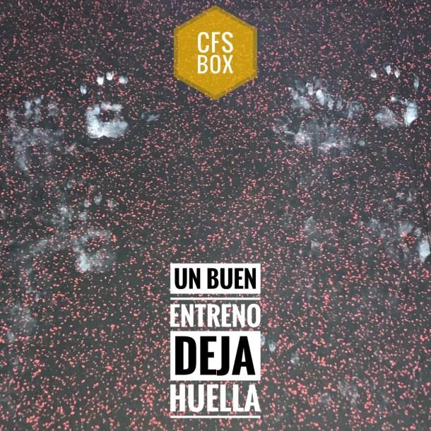 Wod CFS Box CrossFit Sevilla training deja huella