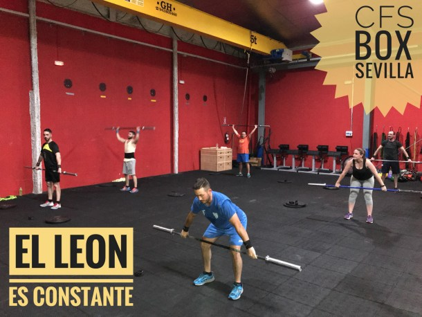 Wod CFS Box CrossFit Sevilla training leon constancia