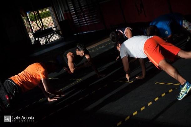 Wod CFS Box CrossFit Sevilla Leones training compañeros