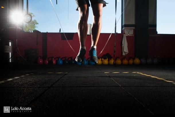 Wod x CrossFit Sevilla Leones training comba
