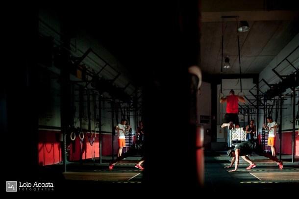 Wod x CrossFit Sevilla Leones training flexiones
