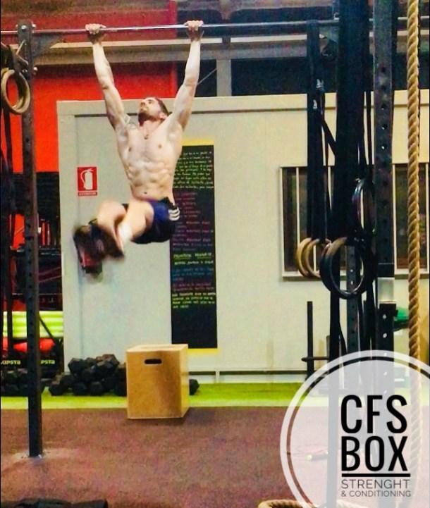 Wod CFS Box CrossFit Sevilla training progreso