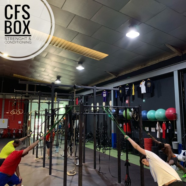 Wod CFS Box CrossFit Sevilla training lions