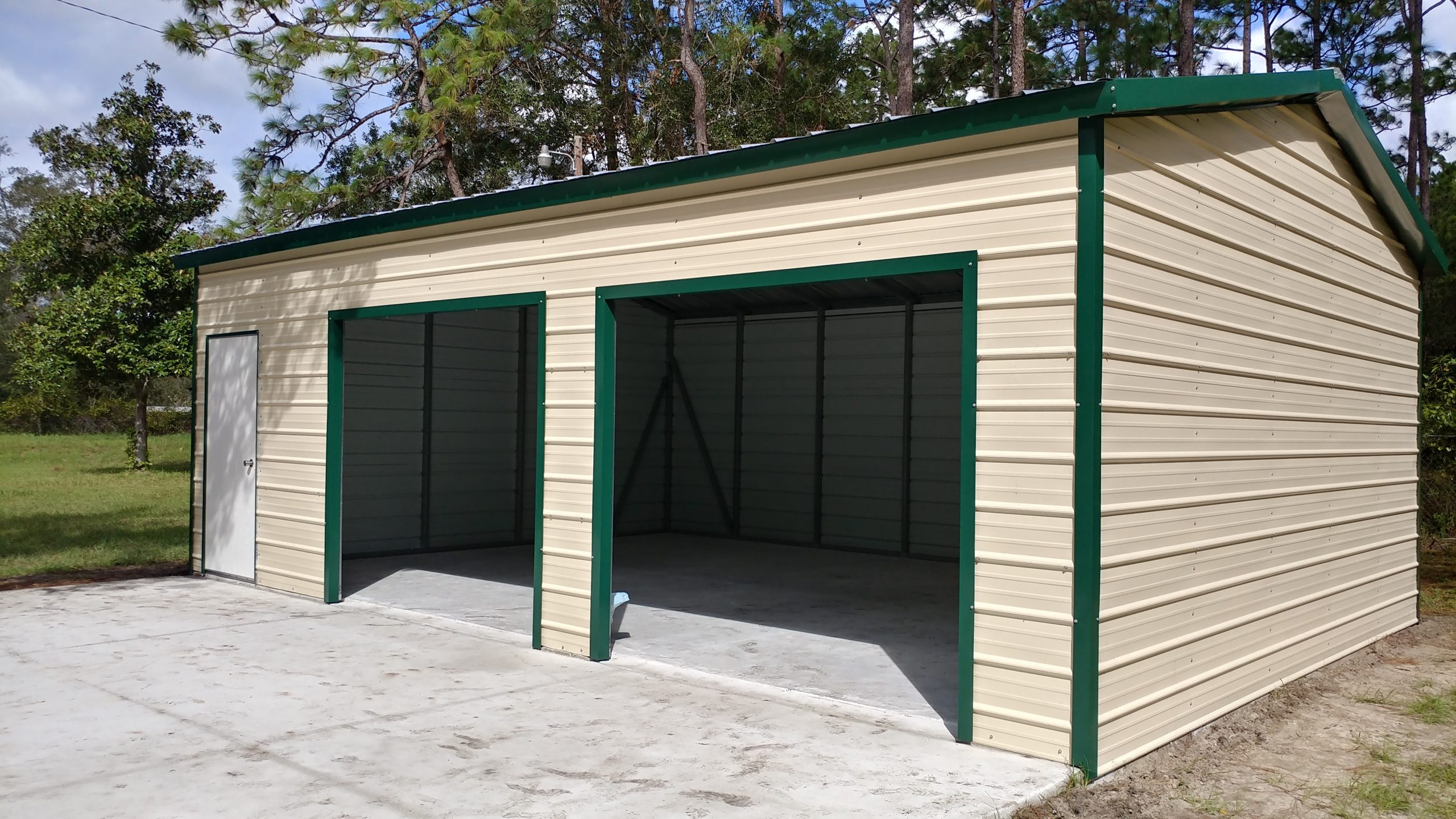 24x40 Steel Building Central Florida Steel Buildings And
