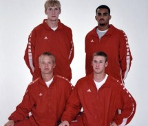 2003 4x400 Dahlstrom, Robinson, Zanders, Roberts