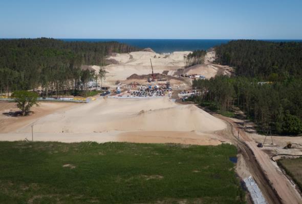 В Польше показали, как строят канал в обход России (фото ...