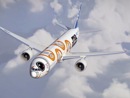 Японская авиакомпания раскрашивает самолеты в стилистике ...