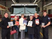 Firefighter Book Donation