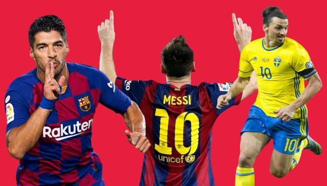Greatest football forwards