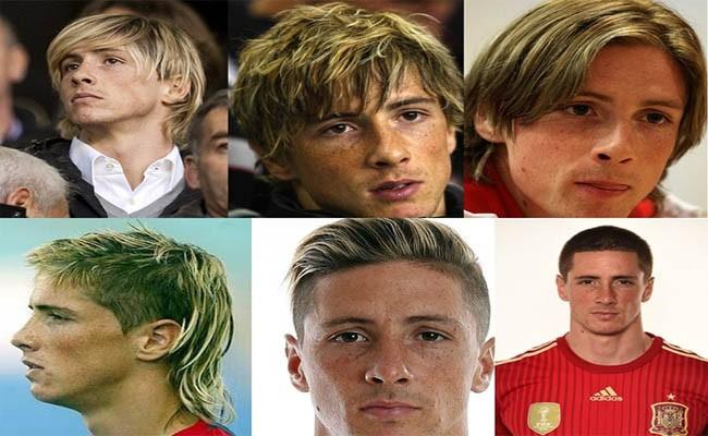 Fernando Torres haircut