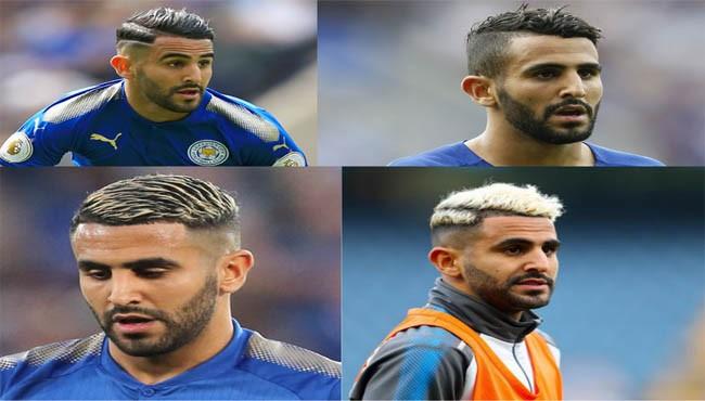 Riyad Mahrez haircut