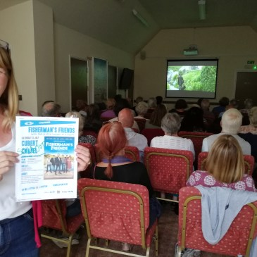 Fisherman's Friends, food and fun at Cubert Film Club