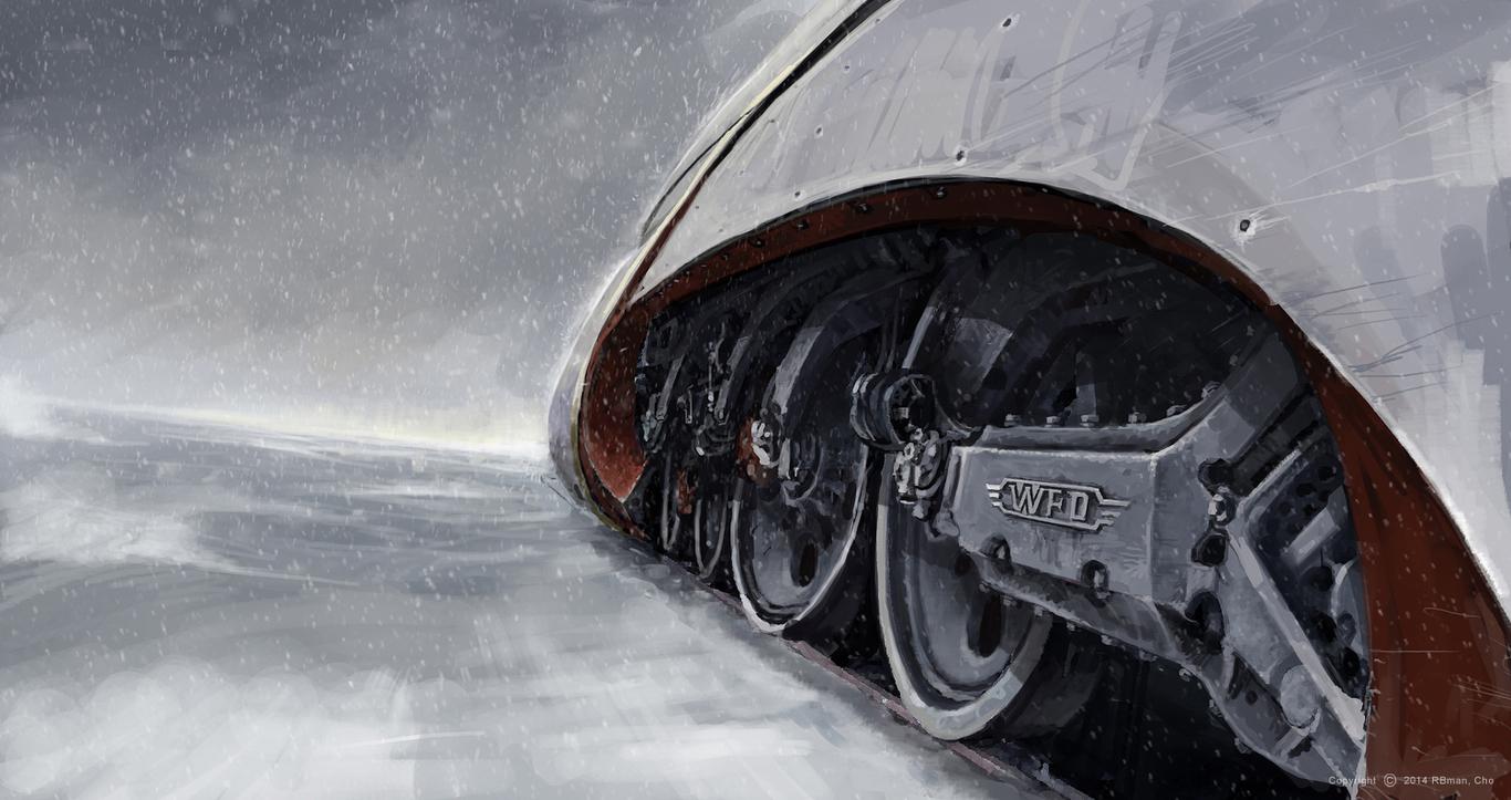 Film Quot Snowpiercer Quot Train Concept Design By Rbman