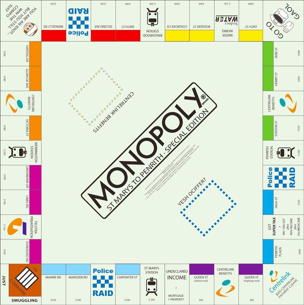大富翁 Monopoly