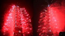 2013 101 跨年煙火 taiwan taipei 101 fireworks show (7)