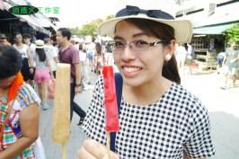 飲料冰淇淋與泰國女孩00031