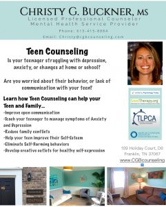 Teen counseling ad