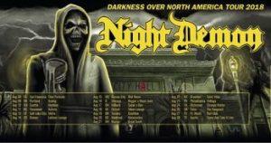 Night Demon / Bloodstar / Tombkicker