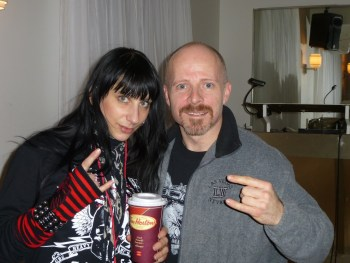 Liv and The Meister in Toronto 2013