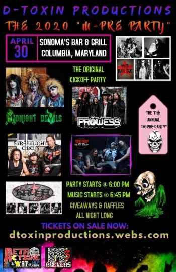 M-PRE Party Lineup 2020 (News)