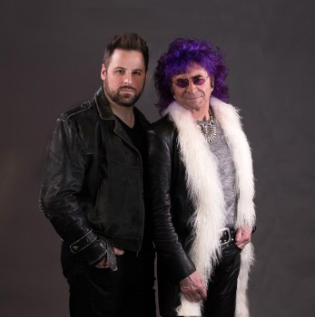 Toby Hitchcock and Jim Peterik of Pride of Lions
