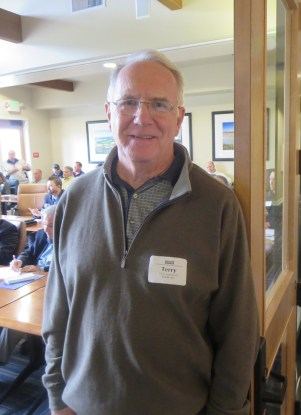 Terry Applebury of Econity Inc. at the CGCOA Northern California Educational Conference.