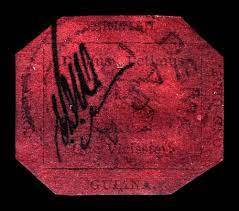 The British Guiana One-Cent Magenta, the World's Oldest Stamp, and its Fascinating Story