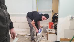 Remodel of Shower Room – CG Construction Services, Inc