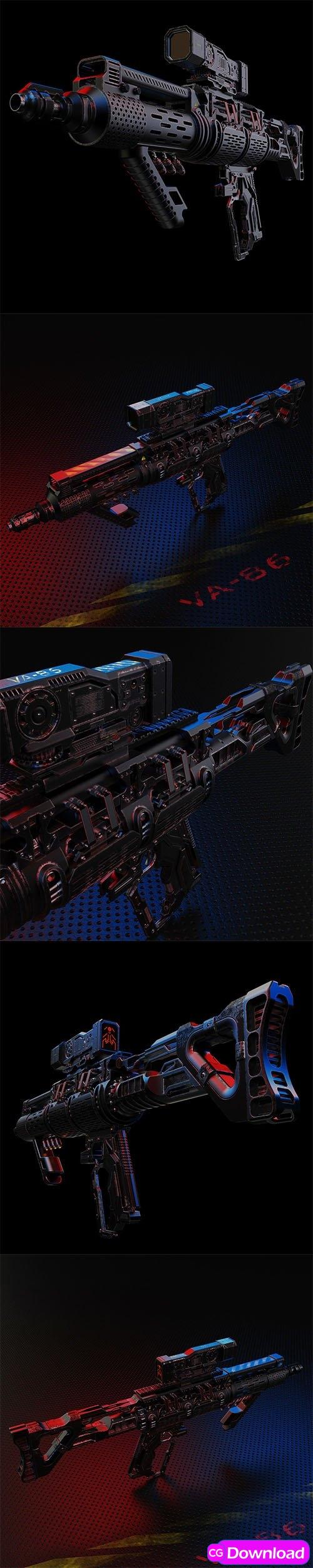 Download CuberBrush – VA-86 laser & bullet gun Free