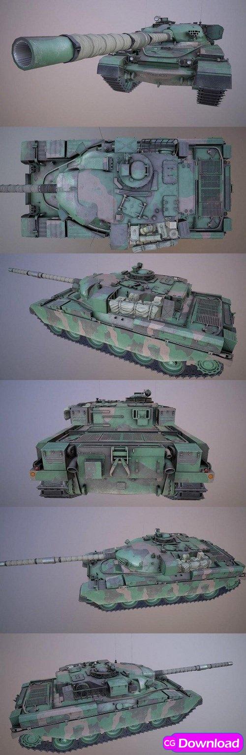 Download Chieftain Mk5 Tank – 3D Model Free