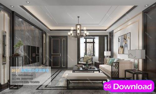 Download  Modern Style Livingroom 242 (2019) Free