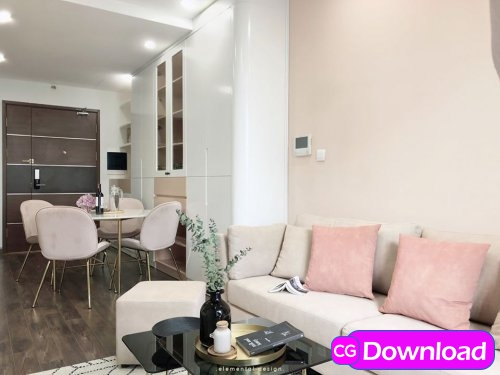 Download  Apartment Scene By NguyenHieu Free