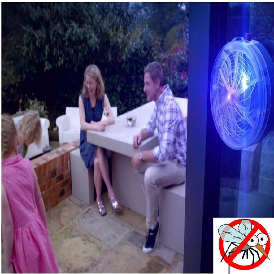 Solar Buzz Mosquito Kill Zapper Killer UV Lamp Light Fly Insect Bug Bedroom Mosquito LAMP Home kitchen Summer Indoor outdoor 5