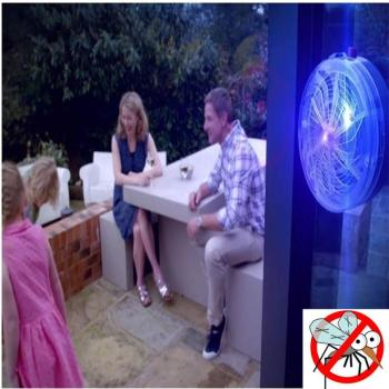 Solar Buzz Killer Zapper Fly Insect Bug Mosquito 9