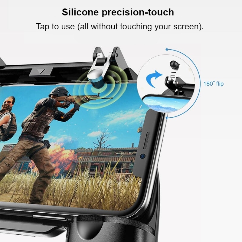Integrated Handheld Mobile Game Controller 5
